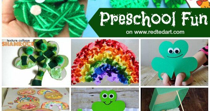 St Patrick's Day Preschool Crafts