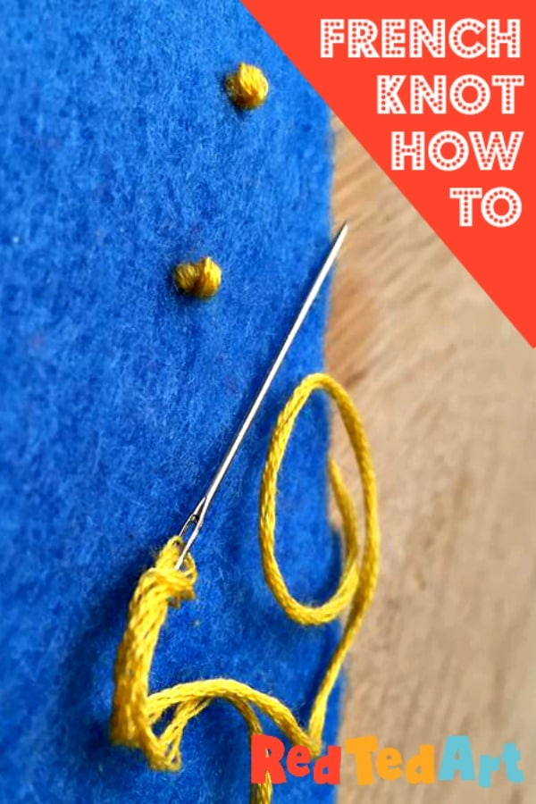 French Knot How To