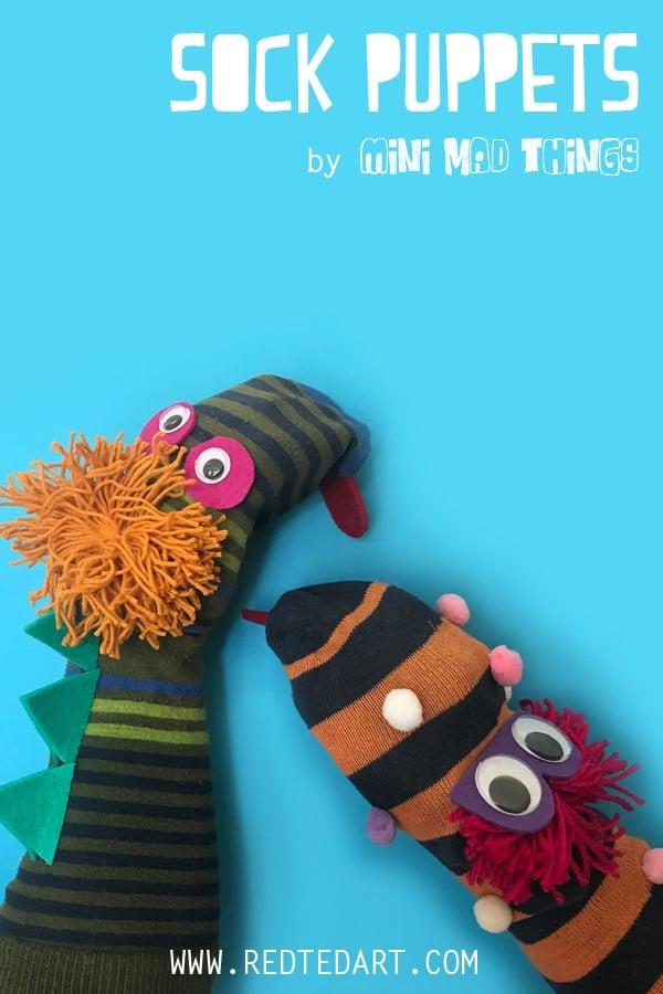Easy Sock Monsters