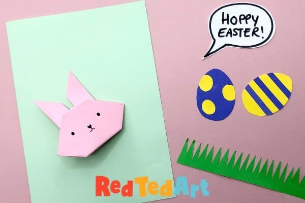 Easy Bunny Easter Card