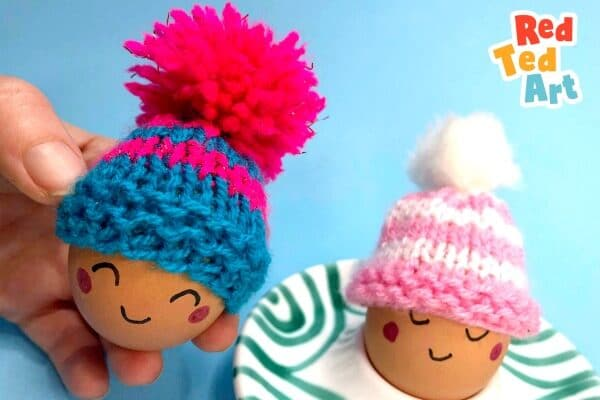 Knitted Egg Cozies
