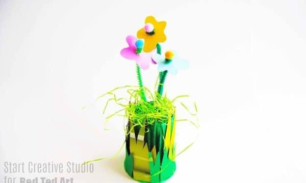 Mini Flower Garden Craft