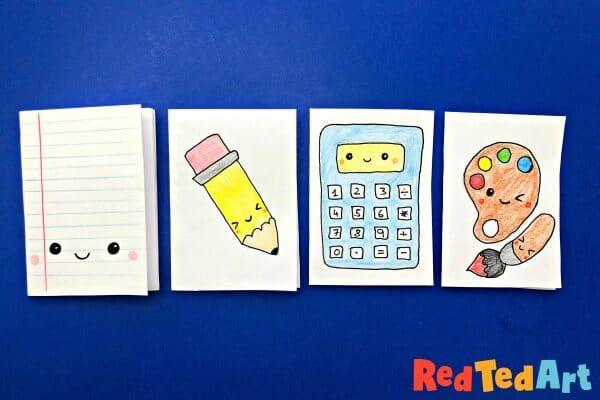 Mini Notebooks - School Supplies