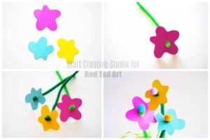 Making Pipecleaner Flowers
