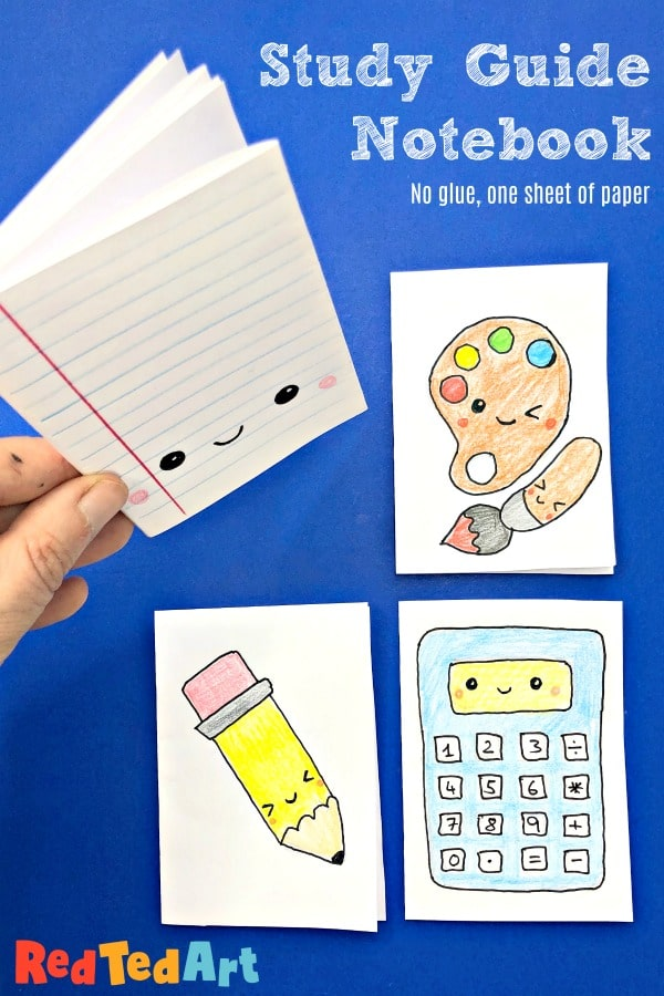 Easy Study Guide Notebooks