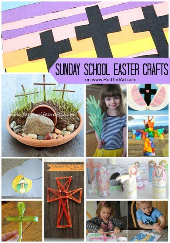 Sunday School Easter Crafts