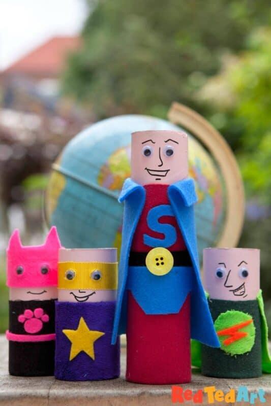 TP Roll Superheroes