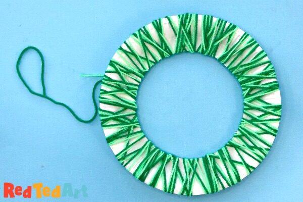 Yarn WrappinG Wreaths