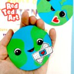 Earth Day Corner Bookmark Design