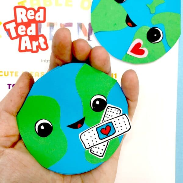 Earth Day Corner Bookmark Design