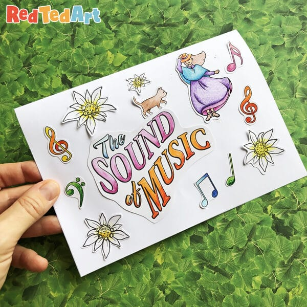 Sound of Music Printable Card