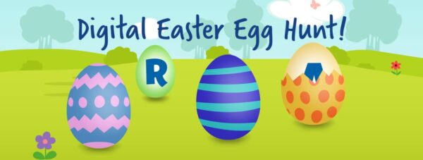 Digital Egg Hunt With Learning Resources Red Ted Art Make Crafting With Kids Easy Fun