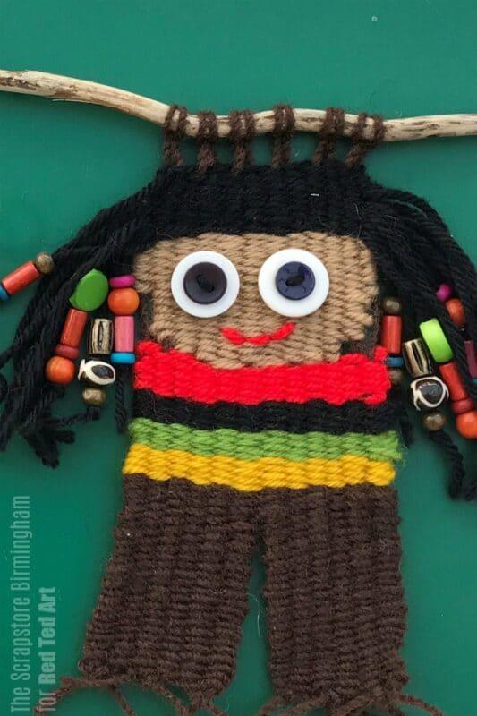 Weaving Dolls Craft idea