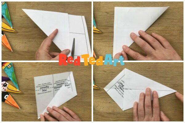 Folding your kite shape