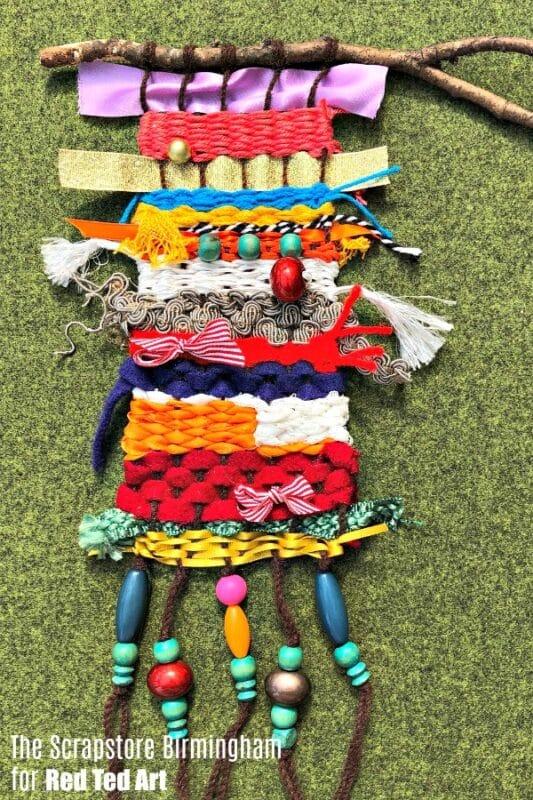 Easy Weaving for kids