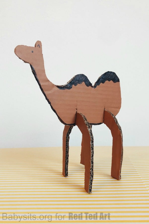 Cardboard camel diy