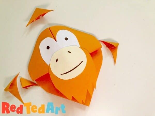orangutan bookmark how to
