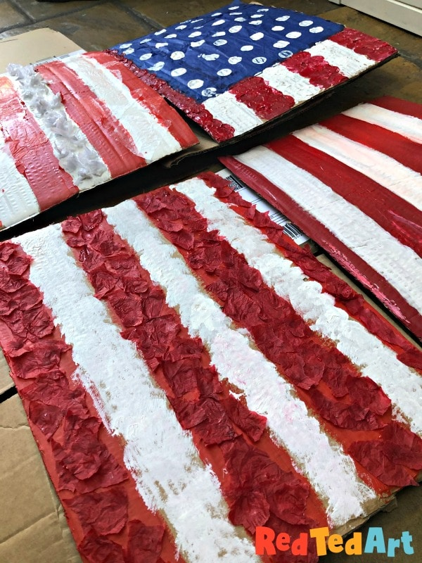 American Flag Art projects
