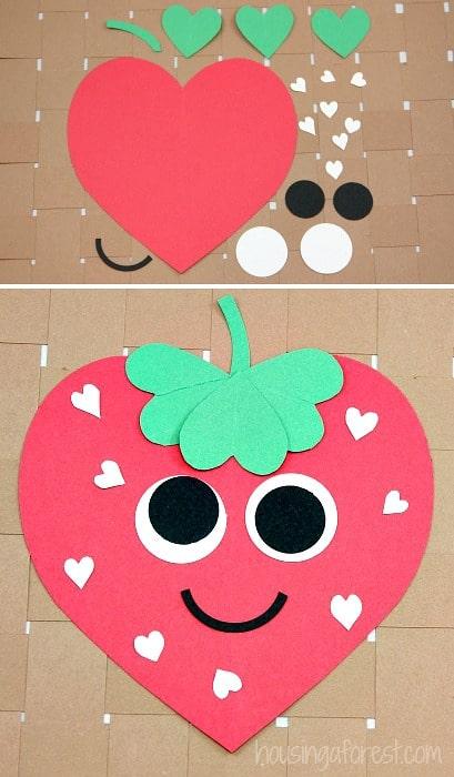 Paper Strawberry