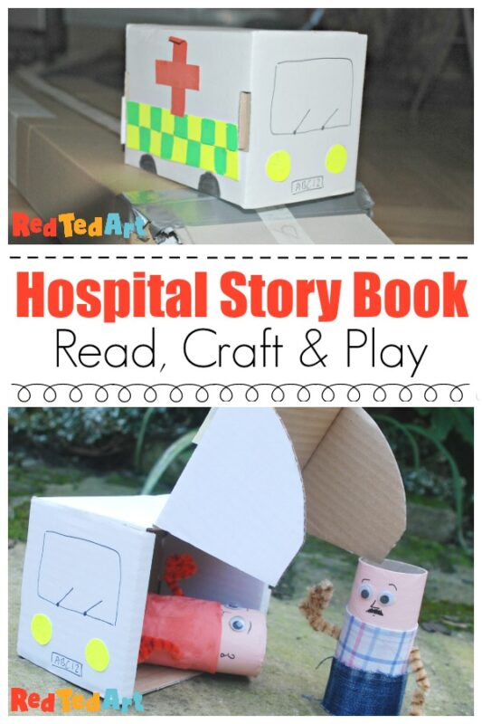 Hospital Story Book & Craft