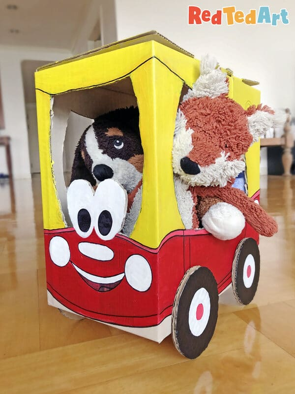 Cardboard Box Cozy Coupe