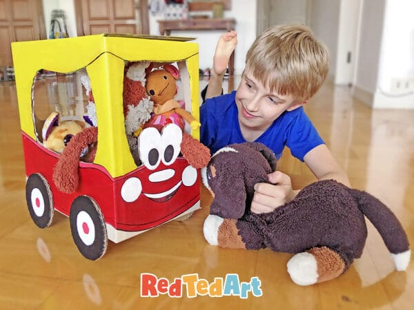 Play with your own cardboard Cozy Coupe