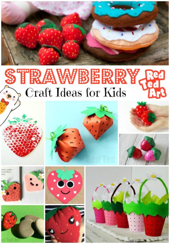Strawberry Craft Ideas