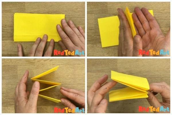 Paper bee craft