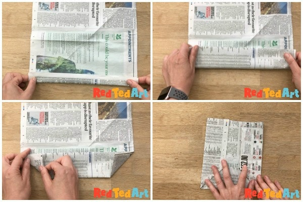 Basic newspaper envelopes