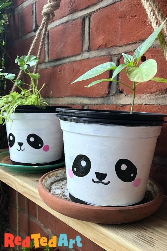 paint your plant pot