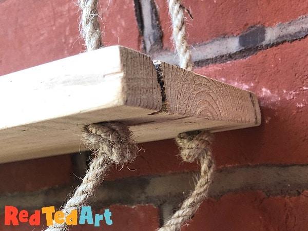 rope shelf knots