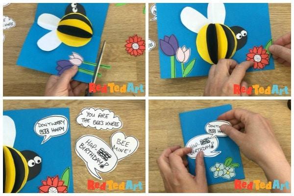 bee pun cards
