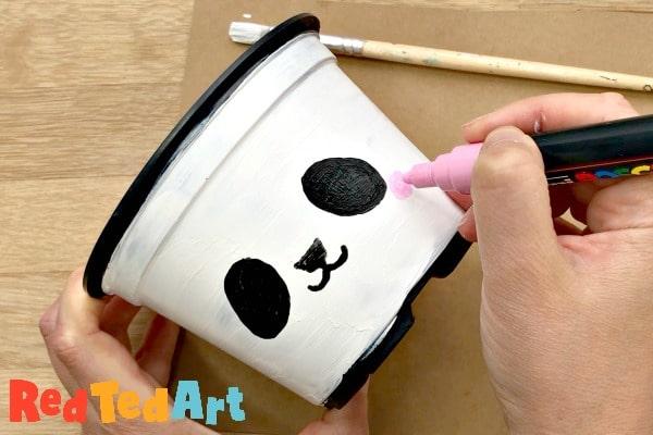 paint your plant pot