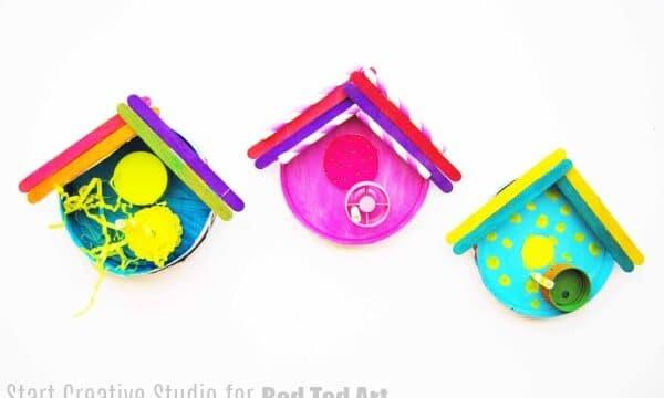 recycled bird house craft