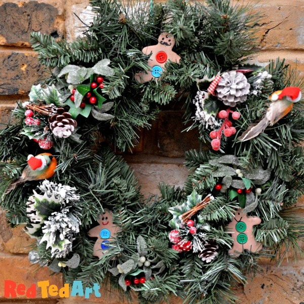 they look great in a wreath too