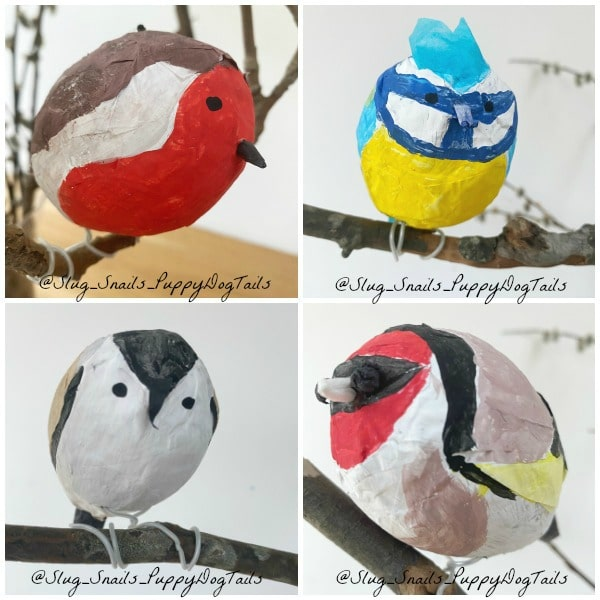 garden bird crafts for kids