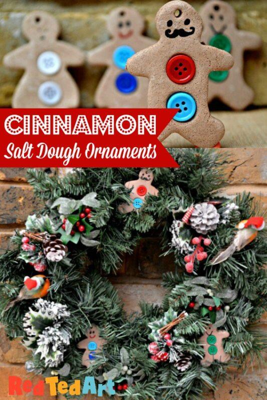 Cinnamon Salt Dough Wreath