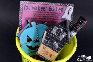 Boo Bucket for Teachers