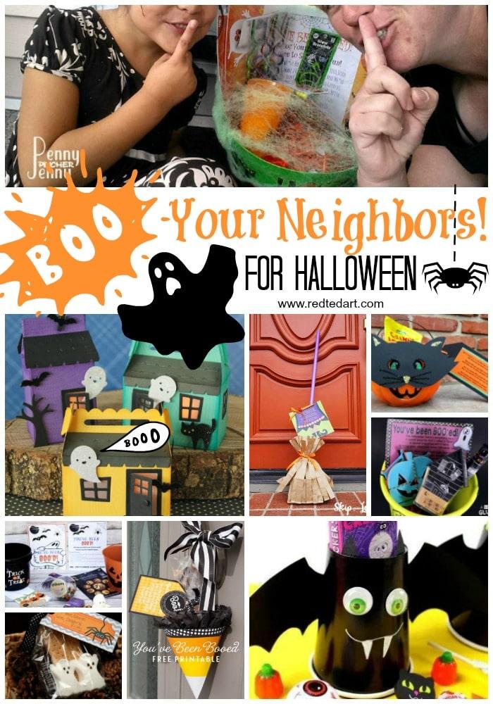 Boo Your Neighbors Ideas