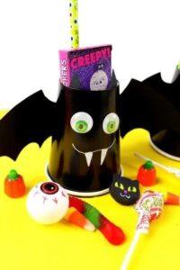 Halloween Bat Boo Cup