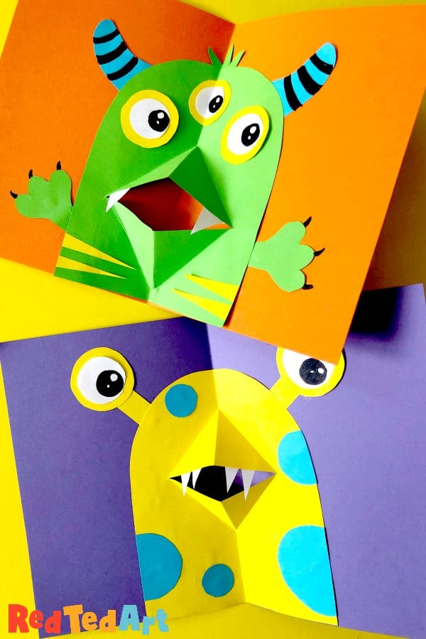 Monster pop ups