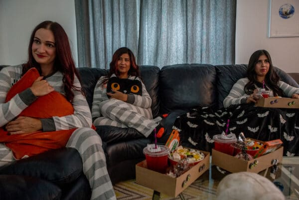 Social Distancing Halloween Ideas - Family Fun Movie Night!