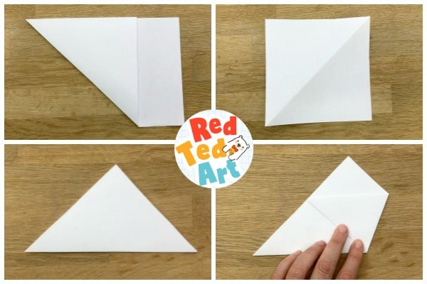 Make a square and fold