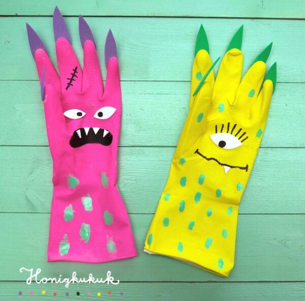 Rubber Glove Monster