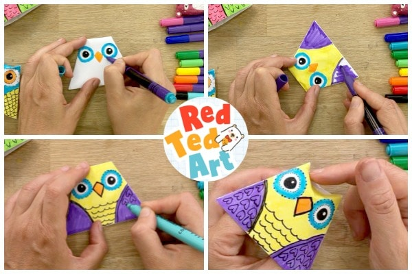 Decorating your doodle owl