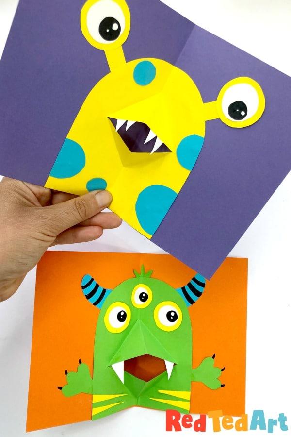 3d Monster Cards
