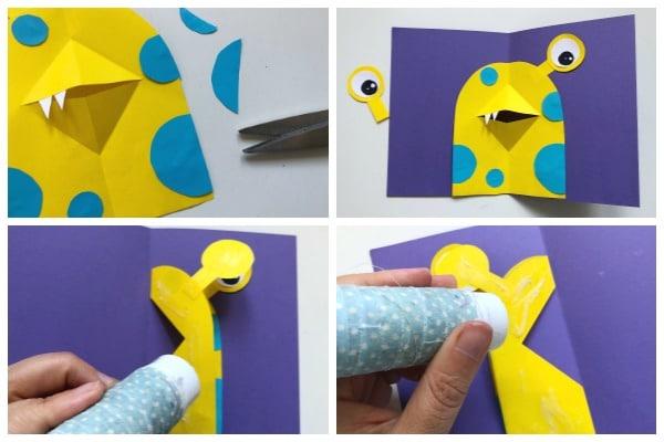 Assembling the 3d Card