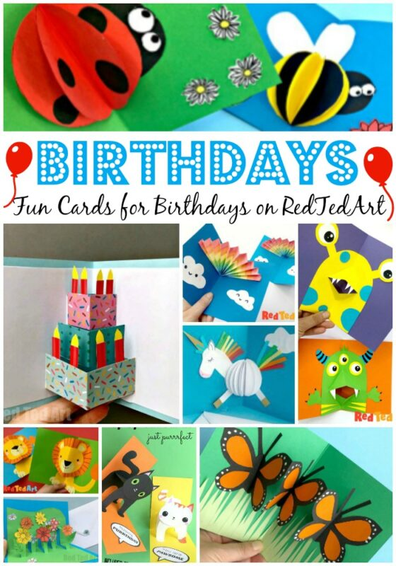 Learn how to make 3d Homemade Birthday Cards for Kids.