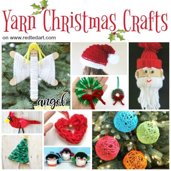 wool Christmas crafts