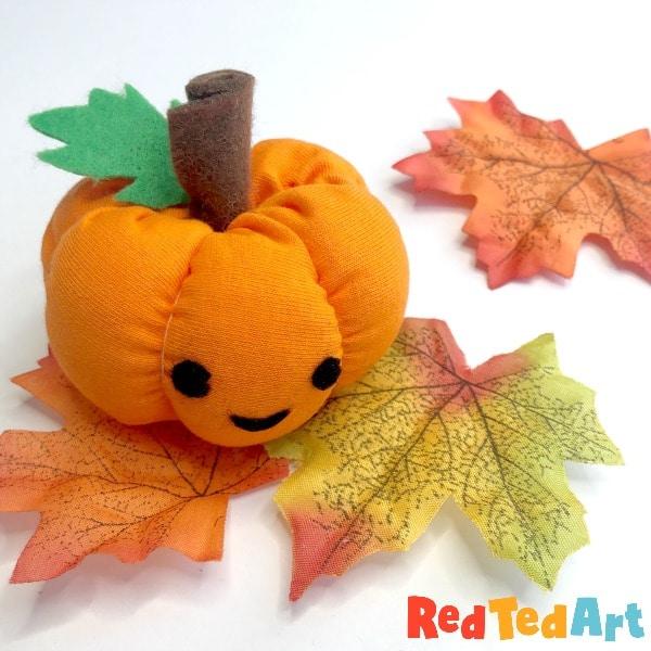 cute halloween pumpkin craft